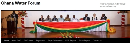 Ghana Water Forum web site